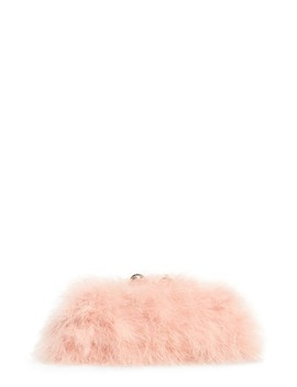 Loop Bow Feather Evening Bag by Ted Baker London
