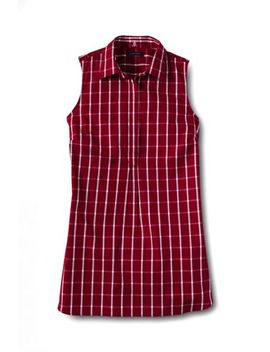 Women's Sleeveless No Iron Tunic Top by Lands' End