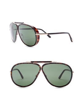 Metal 65mm Sunglasses by Tom Ford