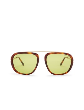Johnson Modified 57mm Aviator Sunglasses by Tom Ford