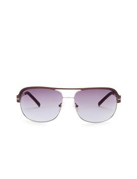 Men's Navigator 66mm Aviator Sunglasses by Guess