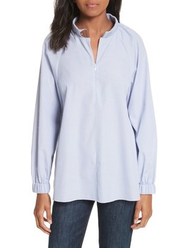Pinstripe Easy Tunic by Tibi