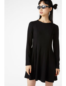 Trumpet Bottom Dress by Monki