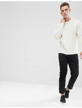 Esprit Sweater With Stepped Hem In Wool Blend by Esprit