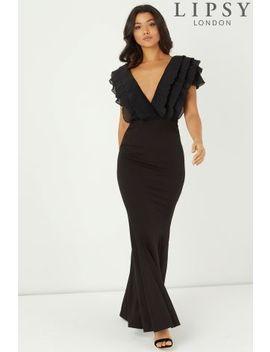 Lipsy Ruffle Maxi Dress by Next