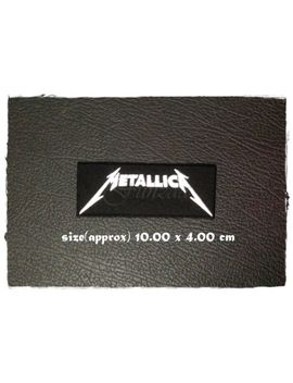 Metallica Iron Sew On Patch Embroidered Rock Band Heavy Metal Music Logo Badge by Unbranded