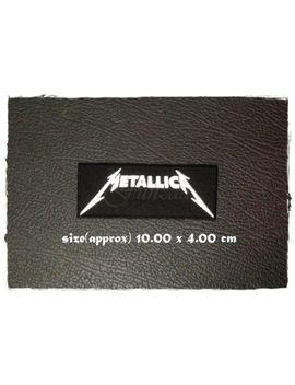 Metallica Hierro Coser Parche Bordado Banda De Rock Insignia Con Logotipo De Música Heavy Metal by Ebay Seller