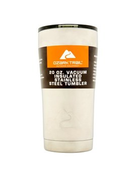 Ozark Trail 20 Ounce Double Wall, Vacuum Sealed Tumbler by Ozark Trail