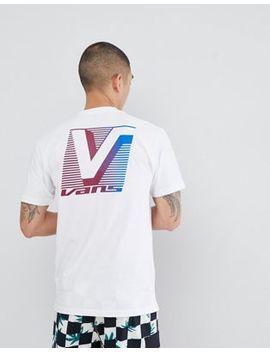 Vans – Grand – Weißes T Shirt Mit Rücken Print, Va3 H6 Nwht by Vans