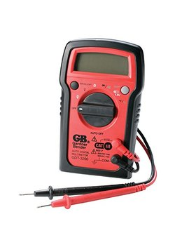 Gardner Bender Gdt 3200 Digital Multimeter, 7 Funct, 7 Range, Tests Ac/Dc Volt, Resist, Diode, Continuity, Temp And Battery, Auto Ranging by Gardner Bender