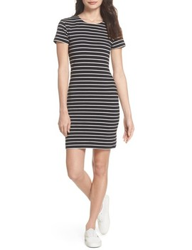 Knit Stripe Body Con Dress by French Connection