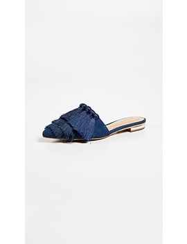 Lale Tassel Point Toe Flats by Schutz