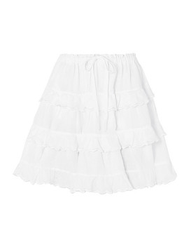Tiered Linen Skirt by Innika Choo