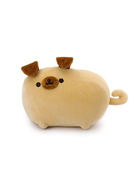 "Gund Pusheen Pugsheen Plush Pug Dog Stuffed Animal With Poseable Ears 9.5"", Tan by Gund"