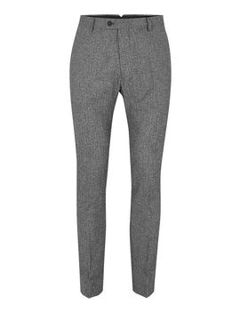 Grey Salt And Pepper Ultra Skinny Fit Suit Trousers by Topman