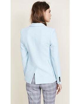 Portrait Neck Blazer by Smythe