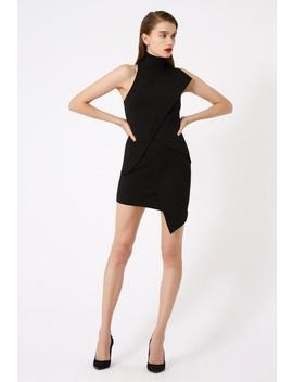 Lorelai Asymmetric Mini Dress by Aq/Aq