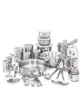 Old Dutch 36 Piece Kitchen In A Box Stainless Steel Cookware Set & Reviews by Old Dutch International