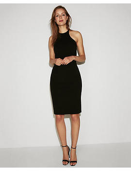 Strappy Halter Sheath Dress by Express