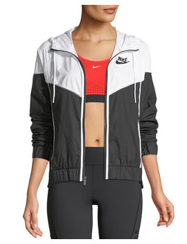 Windrunner Hooded Zip Front Track Jacket by Nike