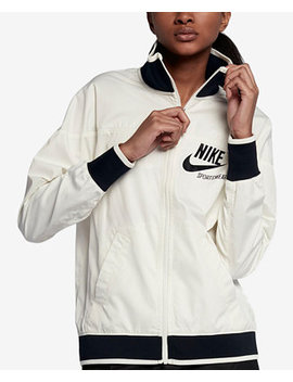 Sportswear Water Repellent Track Jacket by Nike