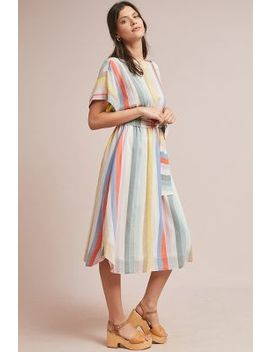 Whit Striped Day Dress by Whit