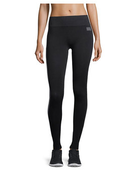 Hi Tech Side Stripe Seamless Performance Leggings by Monreal London