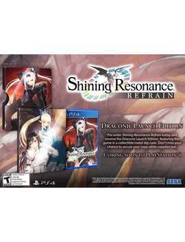 Shining Resonance Refrain: Draconic Launch Edition   Play Station 4 by Sega