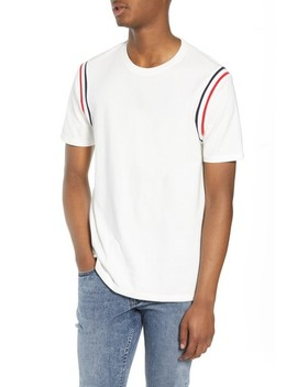 Ribbed Stripe T Shirt by The Rail