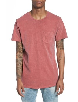 Garment Washed Pocket T Shirt by The Rail