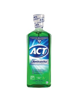 Act Mint Fluoride Rinse   18oz by Act