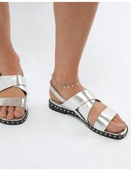 Asos Design Delicate Charm Anklet by Asos Design