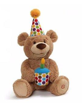 Happy Birthday Teddy Bear Animated Plush Toy by Gund