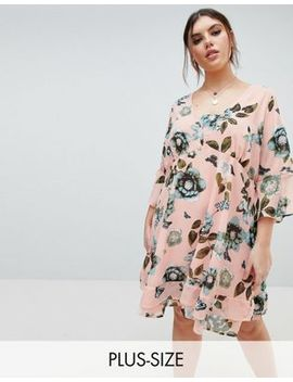 Junarose Retro Bloom Skater Dress by Junarose