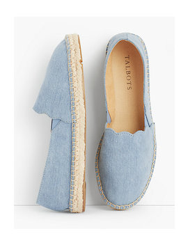 Izzy Denim Espadrilles by Talbots