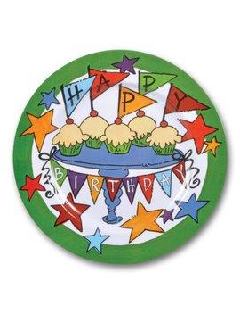 'happy Birthday' Plate by Magnolia Lane