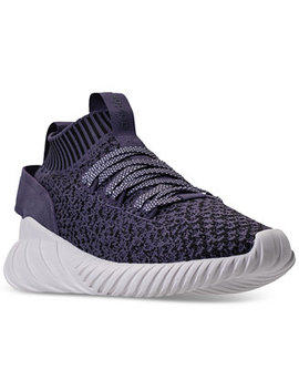 Women's Tubular Doom Sock Casual Sneakers From Finish Line by Adidas