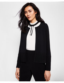 Zig Zag Detail Cardigan by Ted Baker