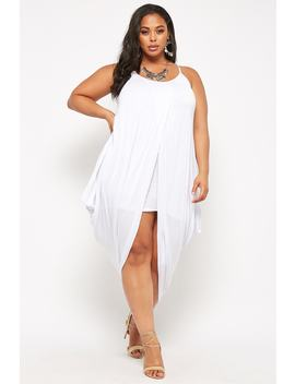 Plus Size Cocoon Tulip Dress by Forever 21