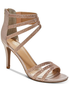 Karlee Evening Sandals, Created For Macy's by Thalia Sodi