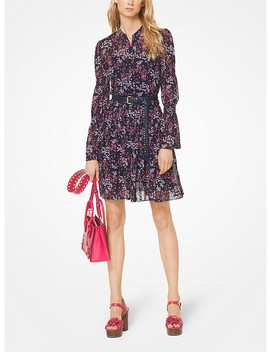 Floral Georgette Shirtdress by Michael Michael Kors