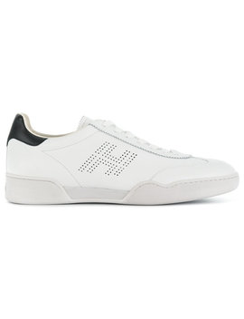 Perforated Logo Sneakers by Hogan