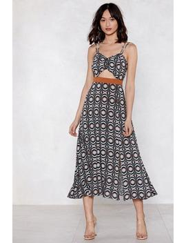 Cannes Is Calling Midi Dress by Nasty Gal