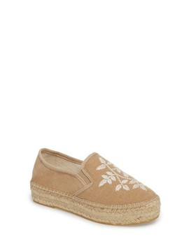 Florence Embroidered Platform Espadrille Sneaker by Toni Pons