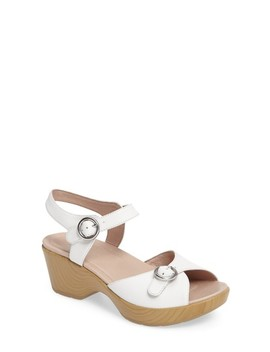 June Platform Sandal by Dansko