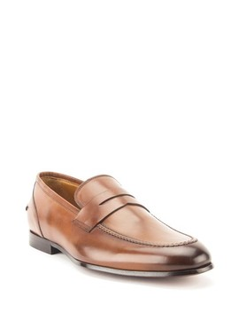 Coleman Apron Toe Penny Loafer by Gordon Rush