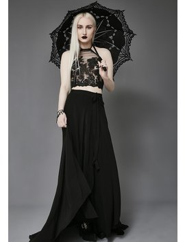 Unhappy Thoughts Parasol by Western Fashion