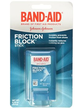 Band Aid Brand Friction Block Stick .34oz,  Boxes (Pack Of 3) by Band Aid