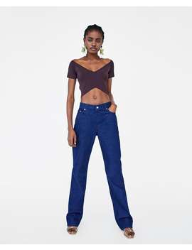 Crop Top  View All Shirts by Zara