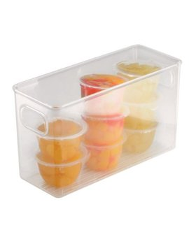 Inter Design Fridge And Pantry Binz Storage Bin 6 In. H X 4 In. W X 10 In. D by Inter Design